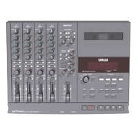 Cassette Four Track Recorder: Yamaha MT4X: Max Format