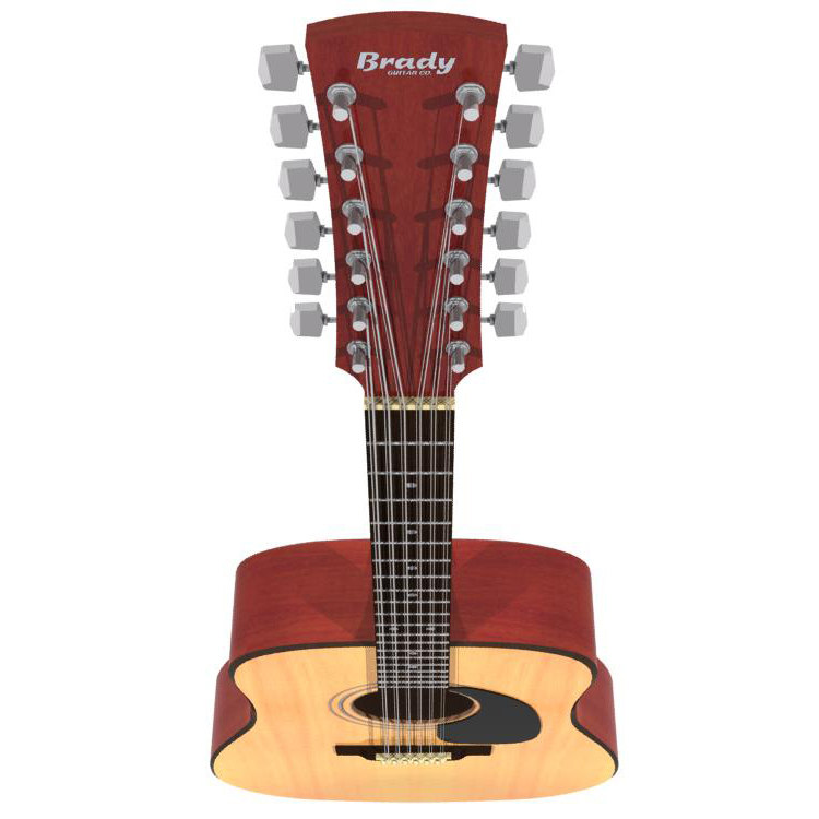 acoustic guitar 12 ma