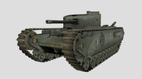 WW2 Churchill Tank
