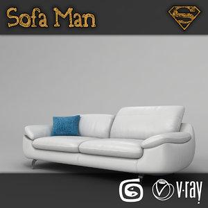 ohio sofa 3d model