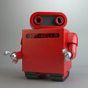 toy robot robo max