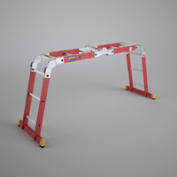 scaffold ladder 3d model