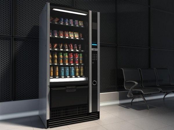 food vending machine 3d 3ds