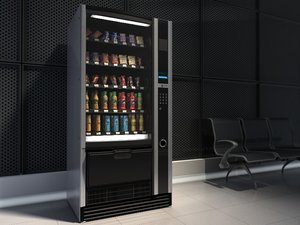 food vending machine 3d 3ds