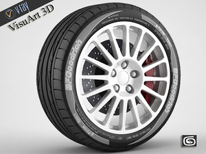 suzuki wrc oz racing 3d max