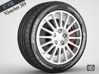 Wheel Suzuki WRC OZ Racing