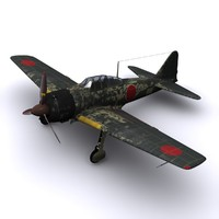 a6m zero fighter a6m3 3ds
