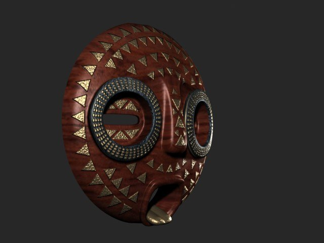 max african mask