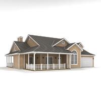 story cottage 30 3d model