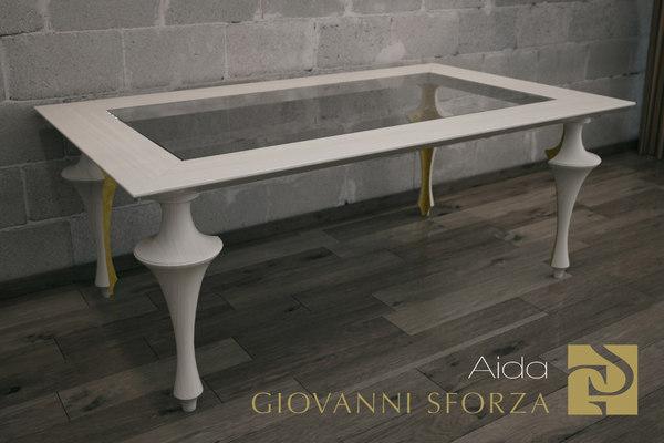 3d model of table aida giovanni sforza