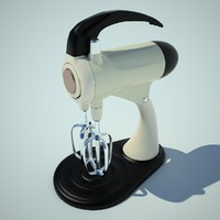 3d model of mixer