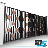 3d max modern gate zodiac