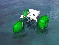 paddle bike or water trike