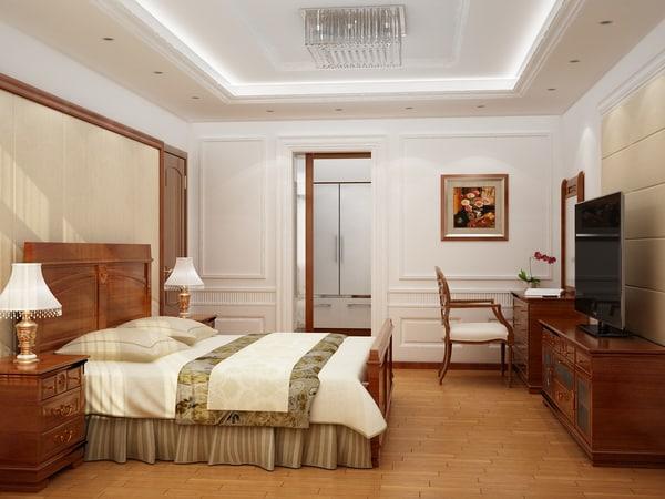 3d luxury bedrooms