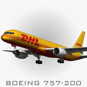 max boeing 757-200 dhl