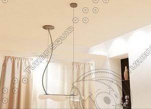 linea light 6205-6225 elica 3d max