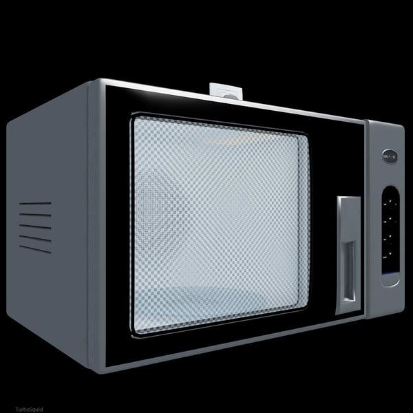 kitchen microwave 2 3d model
