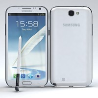 Samsung Galaxy Note II N7100 Marble White