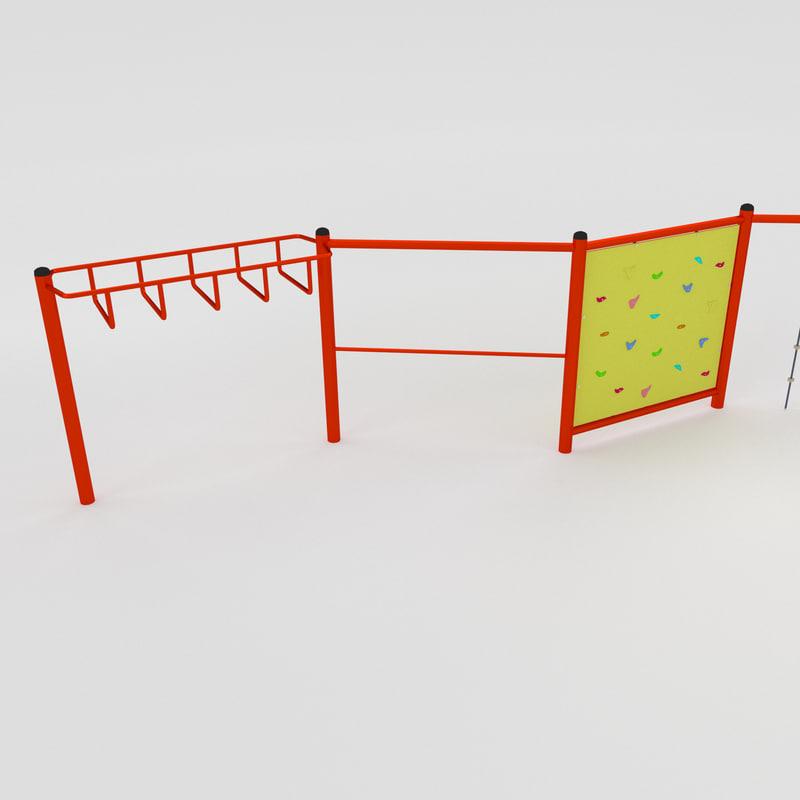 set climbing 3d model
