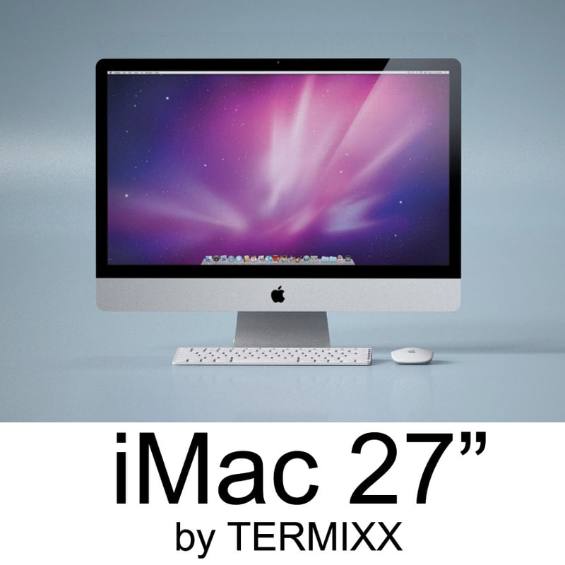 c4d imac 27 computer apple