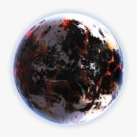 3d ma planet