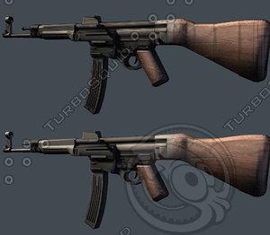 3d german assault rifle