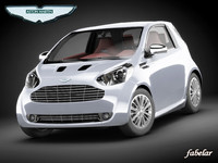 aston martin cygnet car 3d model