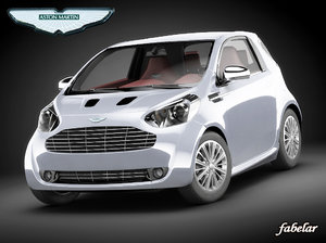 aston martin cygnet car 3d model