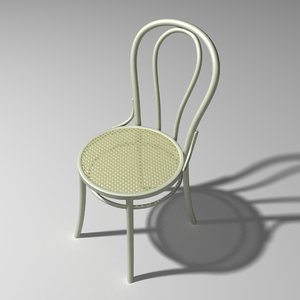 3d thonet chair number 14