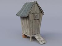 Garden Shed Hut