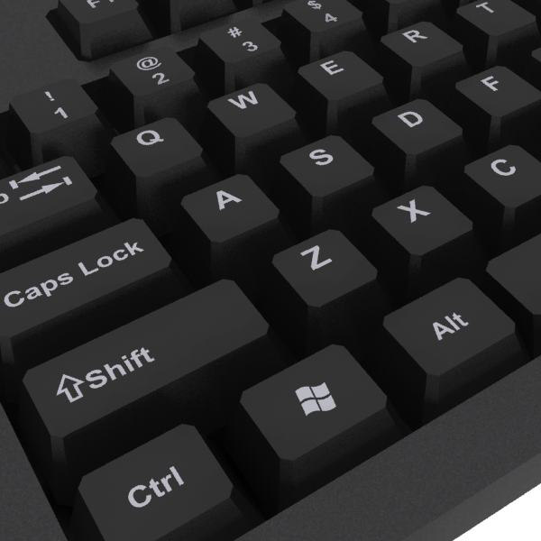 computer keyboard 3d max