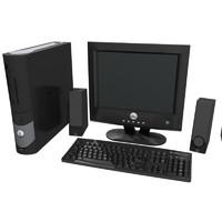 3d computer setup dell
