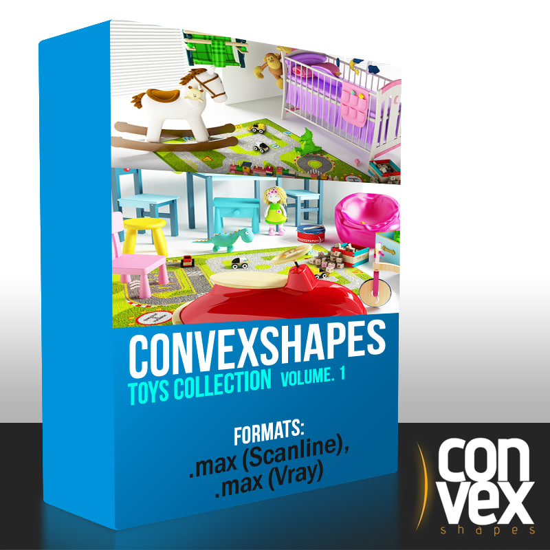 3d model convexshapes toys