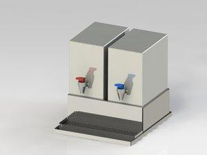 dispenser es 3d model