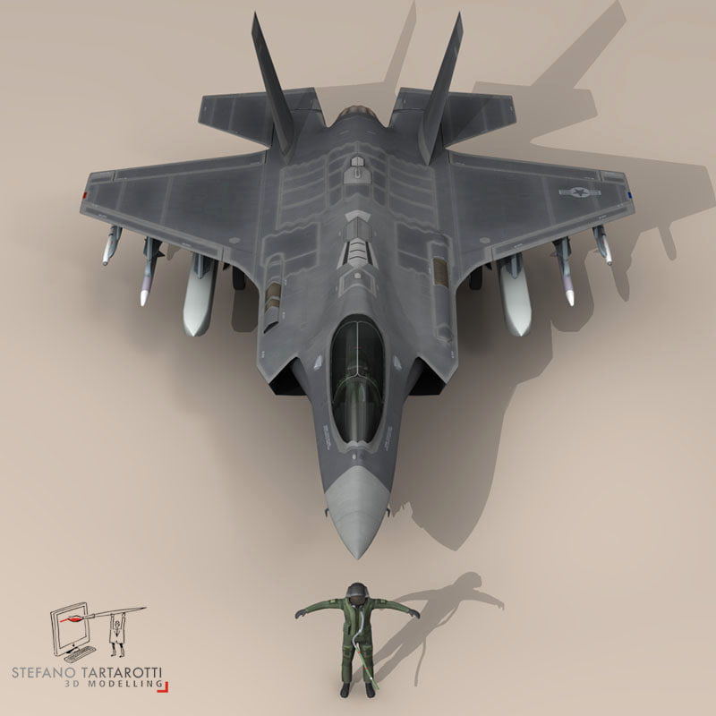 3d pilot - usaf fighters