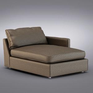 3d crate barrel - lounge