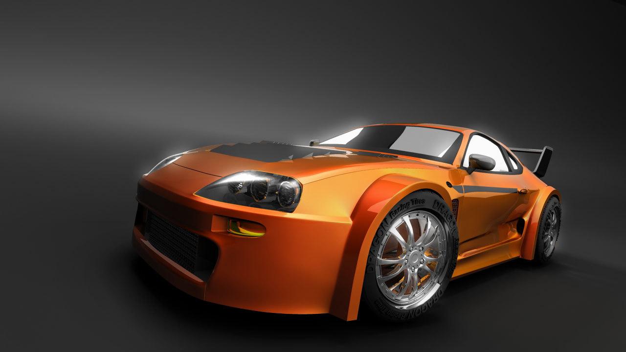 car sports vehicle 3d model