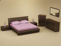 model oreon bedroom set bed
