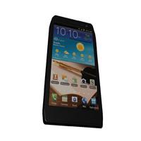 free obj model smartphone