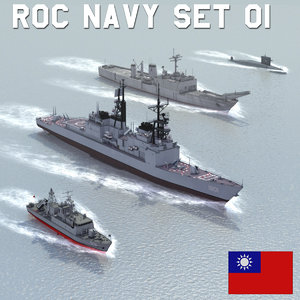 3ds max navy patrol boat sets