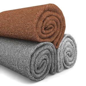 3d towel roll model