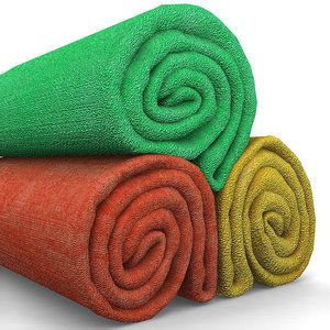 towel roll 3d model