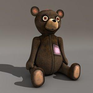 teddy bear c4d