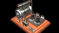Vintage Vacuum Pump