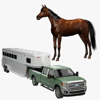 horse trailer pickup max
