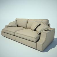 astor giorgetti sofa 3d model