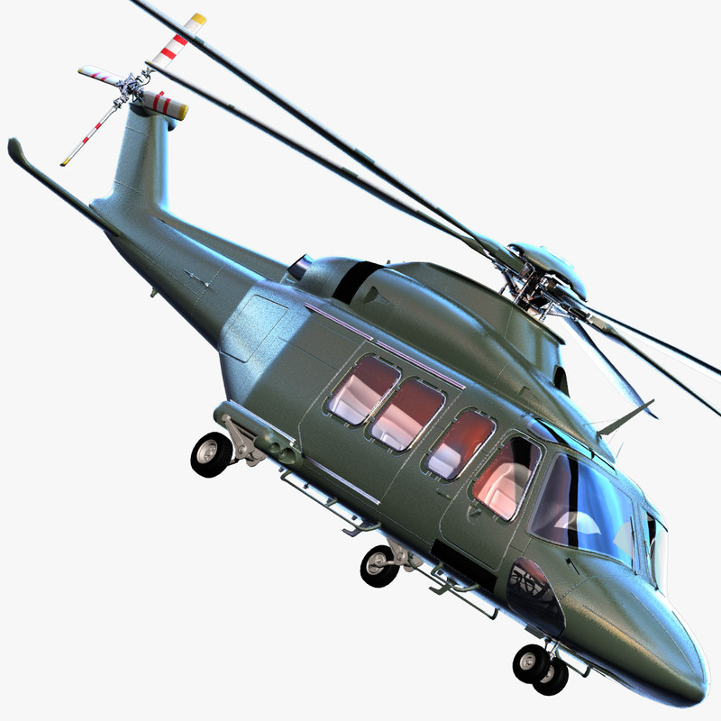 3d max agustawestland aw149 aw139 helicopter