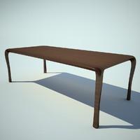 ceccotti collezioni table 3d max
