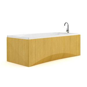 bathtube wooden max