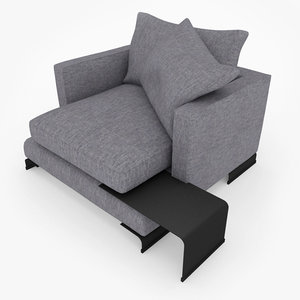 elegant chair 3d max